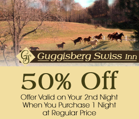 50% Off - Offer Valid on Your 2nd Night When You Purchase 1 Night at Regular Price